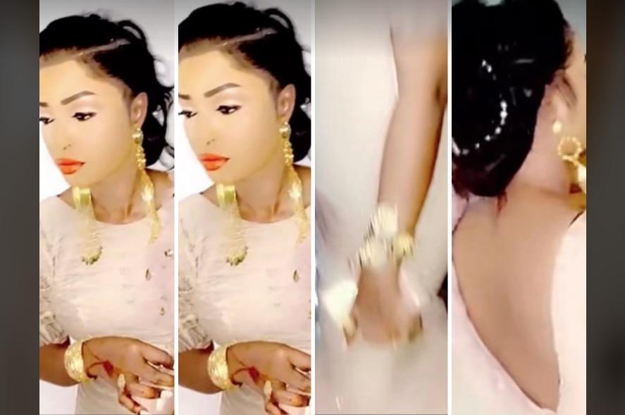 Vidéo:»En Mode Premiére dame» Mbathio Ndiaye innove avec un sagnsé trés classe»sagnsé sama yeuf leu»