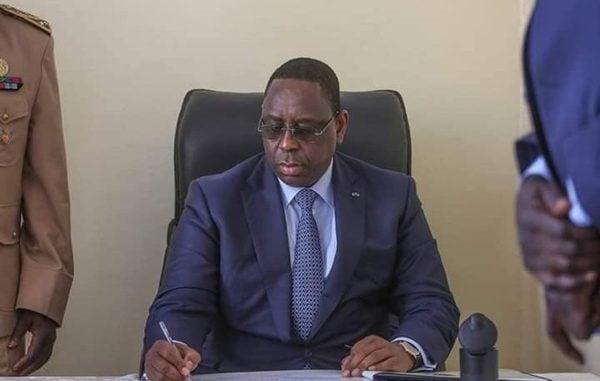 Macky Sall,nomination