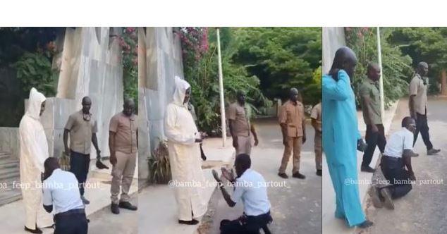 Louga : Le geste de ce policier devant Kara qui a irrité la hiérarchie (Vidéo)