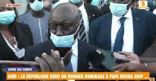 Idrissa Seck sur Pape Bouba Diop