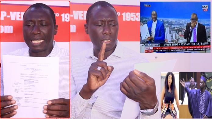 Clash sur Sen TV,Dame Mbodj humilie encore Me El Hadj Diouf et dévoile d'autres preuves