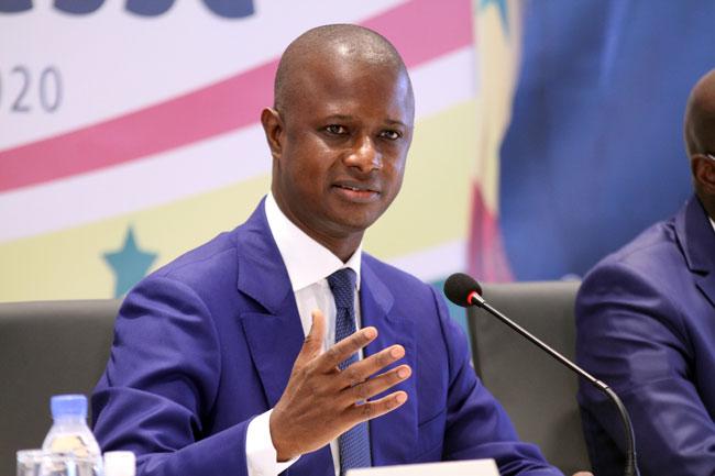 ministre de l'Intérieur Antoine Diome