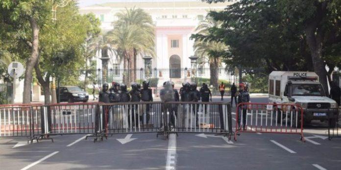 Manifestation à Dakar