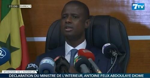 ministre de l'intérieur