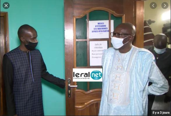 ministre Abdoulaye Diop à Leral