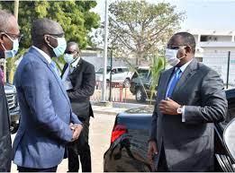 Diouf Sarr et Macky Sall