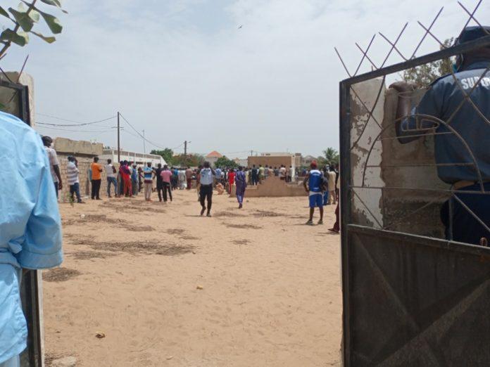 Levée du corps et inhumation du policier Samba Biaye